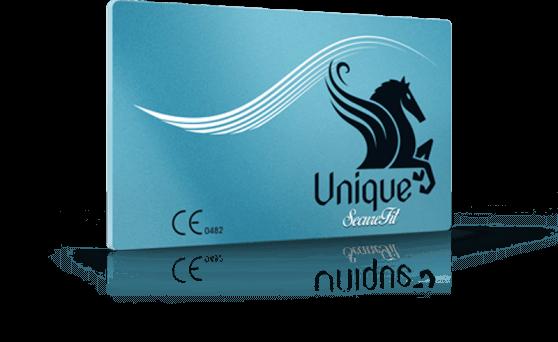 Blue Unique SecureFit 3 Pack condoms