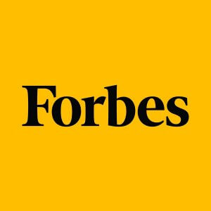 Forbes Logo on yellow background